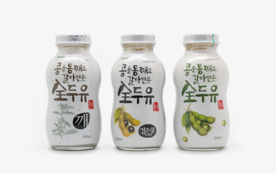 Whole soymilk