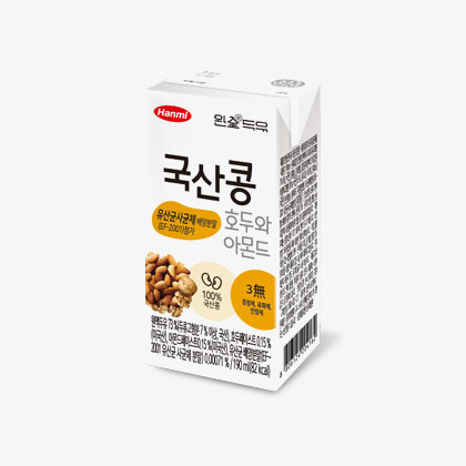 Walnut & Almond Whole Soymilk with Probiotics